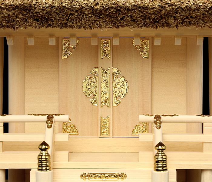 神棚茅葺一社宮国民神殿(小・低屋根)〈K-3'〉